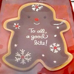 Hallmark  Gingerbread Dish